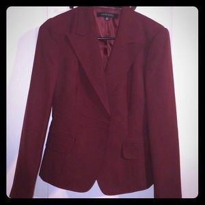 Anne Klein Burgundy Skirt Suit - Classy
